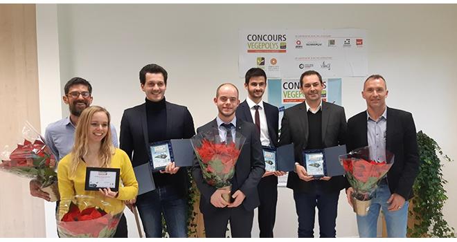Cinq start-up ont été récompensées au concours Vegepolys. Photo : Vegepolys