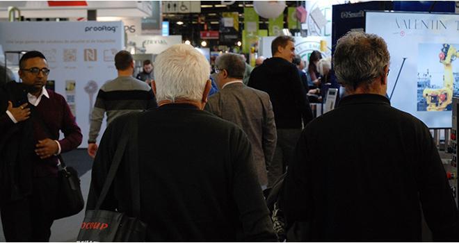 Avec 44 937 visiteurs professionnels, contre 45 700 en 2016, cette édition 2018 du Salon Vinitech-Sifel affiche une fréquentation en légère baisse. Photo : O.Lévêque/Pixel Image