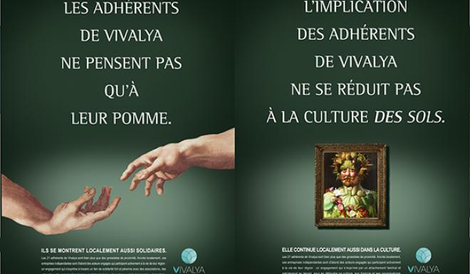 La coopérative Vivalya de distribution de fruits et légumes frais lance une nouvelle campagne de communication. Photo : Vivalya