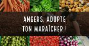 Pour contrer la fermeture provisoire des marchés de plein air à Angers, l'opération « Angers, adopte ton maraîcher » a été lancée par la ville. Photo : Facebook