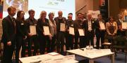 Terralia et l'Afnor ont remis la certification RSE à 7 PME des secteurs F&L et viticoles, le 19 mars dernier.