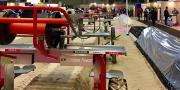 Démonstrations indoor réalisées dans le cadre du rendez-vous mondial de l'asperge.