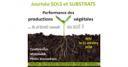 Journée Sols & substrats 2018. Photo : Vegepolys