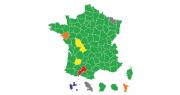 Les résultats aux élections des chambres d'agriculture 2019. Source : APCA