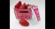 Les fraises C'est qui le patron sont disponibles en barquettes 250g et 500g. Photo : C'est qui le patron