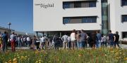 Inauguré le 9 septembre dernier à Angers (Belle-Beille), le Campus du végétal regroupe désormais l'Inra, Agrocampus-Ouest, l'université d'Angers, le Groupe ESA, Végépolys et Plante et Cité. © Inra