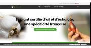 Le nouveau site est dédié à l'actualité de la filière du plant certifié d'ail et d'échalote et aux informations indispensables. Photo : DR