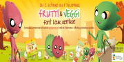 La campagne de Frutti et Veggi pour sensibiliser les enfants dans les écoles à la consommation de fruits et légumes frais.