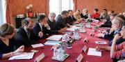 Les représentants de la filière cerise tels que l'AOPn, la FNPF, Interfel, la Gefel, la chambre d'agriculture et la FDSEA du Vaucluse ont été reçus mardi 19 avril par le ministère afin d'arrêter un plan stratégique.