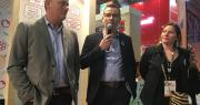Xavier Mas (AOPn Fraise), Laurent Berger (AOPn Tomates et Concombres) et Alba Ridao-Bouloumié (Fruits et légumes d'Europe), ont présenté les avancées du programme européens CuTE, à l'occasion du Salon de l'agriculture. Photo: B.Bosi/Media&Agriculture