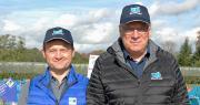 Bruno Bertheloz (à gauche), va succéder l'été prochain à Alain Vialaret à la direction du groupe Blue Whale. Photo : O.Lévêque/Pixel6TM
