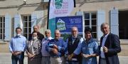 Les partenaires et soutiens de la première fête du raisin AOP Muscat du Ventoux. Photo : C.Even/Pixel6TM
