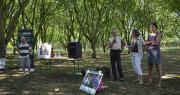 La Senura a organisé sa matinée technique sur la parcelle d'un producteur de noix. Photo : C.Even/Pixel Image