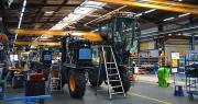 Atelier de production des machines à vendanger Pellenc au sein du site de Pertuis. Photo : C. Even/Pixel6TM