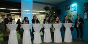 Les présentations en 6 minutes top chrono devant un jury (Crédit mutuel, organisateurs, Végépolys, etc.) ont permis de départager les lauréats lors du dernier A Green Strat'up au Sival 2016.