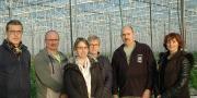 Les responsables de l'UCPT, de Pôle emploi (Lannion et Guingamp), de l'Anefa 22 et du centre de formation Ireo lors du lancement de la session 2019 du programme d'action de formation préalable au recrutement. © D. Bodiou/Pixel6TM