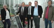 Michel Le Roux, directeur du Caté et Jean-Denis Crenn, président, entourés de Thierry Merret, Daniel Le Duff et Isabelle Grall, membres du bureau. Photo : D. Bodiou/Pixel6TMD. Bodiou/Pixel6TM
