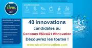 Tous les dossiers sont maintenant en ligne. Découvrez les 40 candidats au concours Sival Innovation 2021! Photo : DR