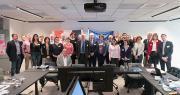 Neuf pays européens étaient représentés le 7 avril pour travailler, avec Interfel, sur un programme d'actions commun destiné à relancer la consommation de fruits et légumes frais en Europe. Photo : Interfel