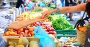 En 2017, les sommes dépensées par les ménages français pour acheter des fruits et légumes frais ont augmenté. Photo : Drone First