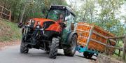 """Le Same Frutteto S ActiveDrive a remporté le titre de """"Machine of the Year 2017"""" dans la catégorie des tracteurs spécialisés, lors du dernier Sima à Paris."""