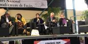 Comme en 2018, Christiane Lambert, président de la FNSEA, devrait assister au congrès de la FNPF 2020. Photo : B.Bosi/Media&Agriculture