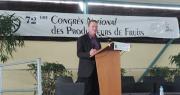 Luc Barbier a présité son dernier congrés de la FNPF. Photo : FNPF