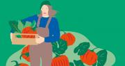 La première édition des Journées nationales de l'agriculture (JNA) se déroulera les 18, 19 et 20 juin 2021 dans toute la France. Illustration JNA