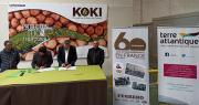 Le 19 mai 2021, Unicoque a signé deux partenariats distincts avec Ferrero France puis Terre Atlantique. Photo : Unicoque