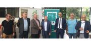 Signature de la nouvelle convention partenariale entre le CTIFL et la CRA Aura, avec au centre Gilbert Guignand, président de la CRA Aura et Jacques Rouchaussé, président du CTIFL. Photo CTIFL