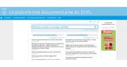 La plateforme documentaire du CTIFL permet de faire des recherches sur des thématiques précises. Photo : CTIFL