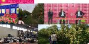 Lancement du Pink Lady Day, vendredi 20 octobre dernier. Un parcours pédagogique pour découvrir les acteurs de la filière.