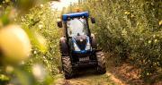 Selon Axema, les immatriculations de tracteurs étroits pour vignes et vergers s'inscrivent en baisse de 27,5% par rapport à 2017. Photo : New Holland