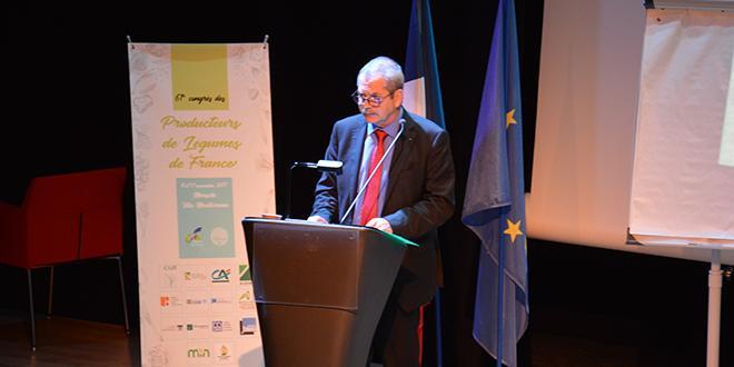 Jacques Rouchaussé a été réélu à l'unanimité président de Légumes de France.