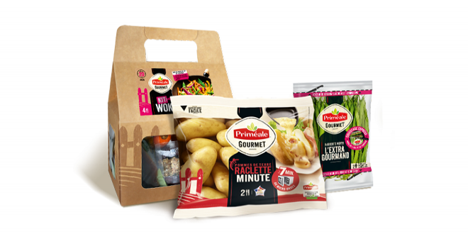 Avec sa nouvelle marque, Priméale souhaite apporter un regard neuf sur la catégorie des fruits et légumes frais. Photo : Priméale Gourmet