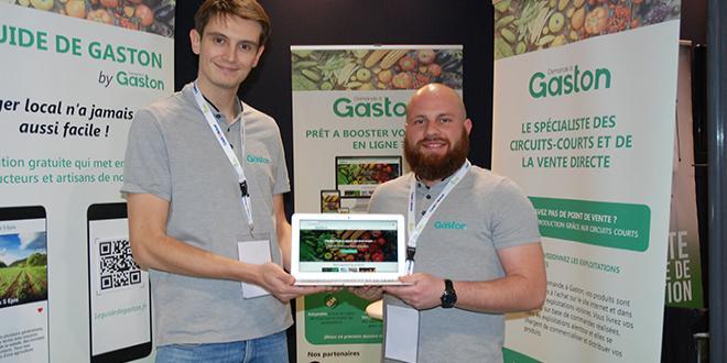 """De gauche à droite : Rodrigue Leurs et Théophile Sollet, les deux fondateurs de """"Demande à Gaston"""". Photo : O.Lévêque/Pixel6TM"""