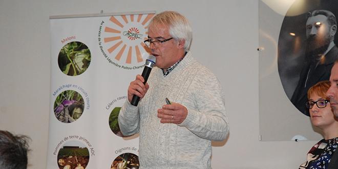 Laurent Guiavarch, enquêteur au RNM en Centre-Ouest a fait le point sur la production melon le 22 novembre 2016.