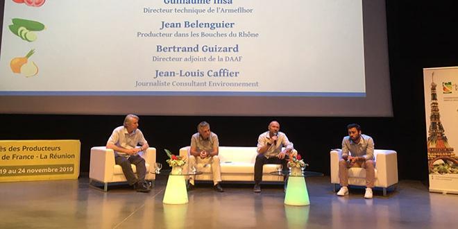 À l'occasion d'une table ronde sur le changement climatique, les producteurs de Légumes de France se sont interrogés sur l'évolution des pratiques nécessaires pour s'adapter. Photo : B.Bosi/media&agriculture