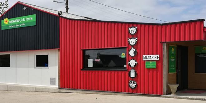 Le premier magasin sous enseigne « Bienvenue à la ferme » a ouvert le 3 mai à Lantic, dans les Côtes-d'Armor.  Photo : DR