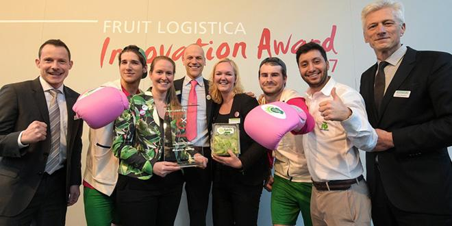Le 1er prix du Fruit Logistica Innovation Award 2017 : Knox de l'entreprise néerlandaise Rijk Zwaan.
