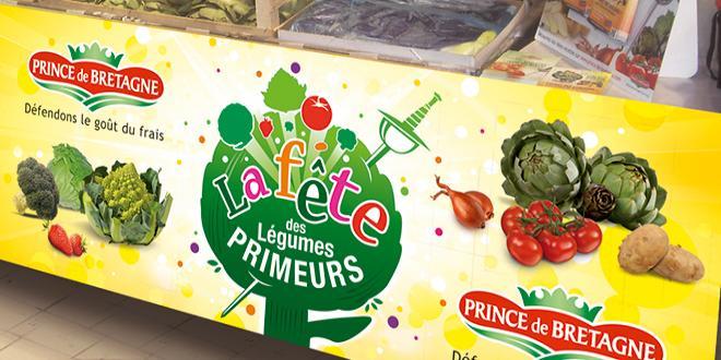 Cette année, Prince de Bretagne pousse plus loin la découverte de ses légumes de saison avec une opération de promotion inédite autour de l'agritourisme. Photo : Prince de Bretagne