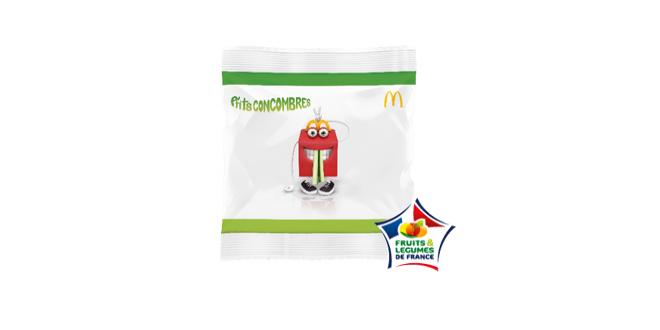 Près de la moitié des fruits consommés chez les enfants de moins de 15 ans en restauration commerciale le sont chez McDonald's. Photo DR