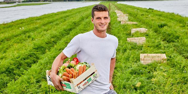 Les paniers de légumes de saison, fraîchement récoltés, ont été sélectionnés par huit producteurs de la Sica. Photo : Emmanuel Pain-Sica de Saint-Pol-de-Léon