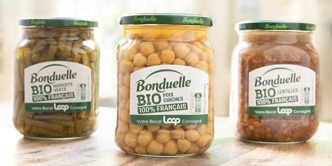 Bocal Bonduelle consigné - Loop by Carrefour